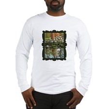 Fish among the Lilies Long Sleeve T-Shirt
