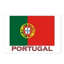 Portugal Flag Stuff Postcards (Package of 8)