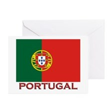 Portugal Flag Stuff Greeting Cards (Pk of 10)