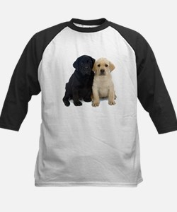 Black and White Labrador Puppies. Tee