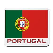 Portugal Flag Stuff Mousepad