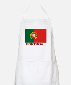 Portugal Flag Stuff BBQ Apron
