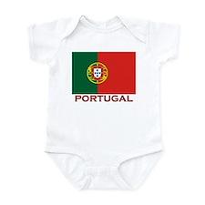 Portugal Flag Stuff Infant Bodysuit