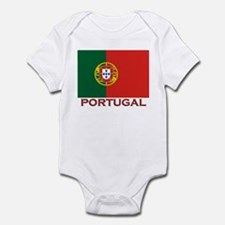 Portugal Flag Stuff Infant Bodysuit
