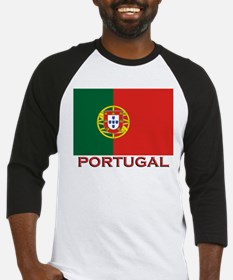 Portugal Flag Stuff Baseball Jersey