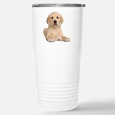 Golden Lab Stainless Steel Travel Mug