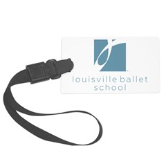 Louisville Ballet School Luggage Tag