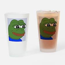 Sad Frog Drinking Glass