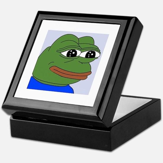 Sad Frog Keepsake Box