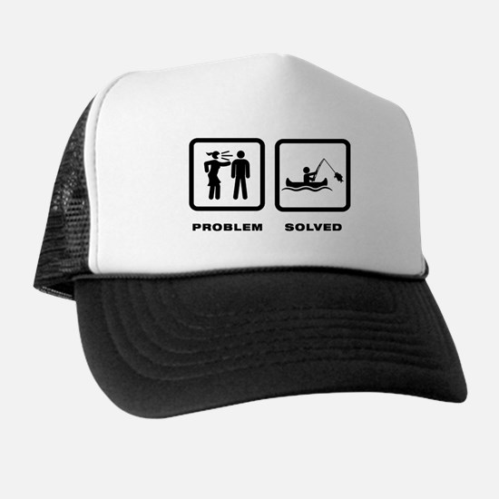 Canoe Fishing Trucker Hat