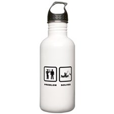 Canoe Fishing Water Bottle