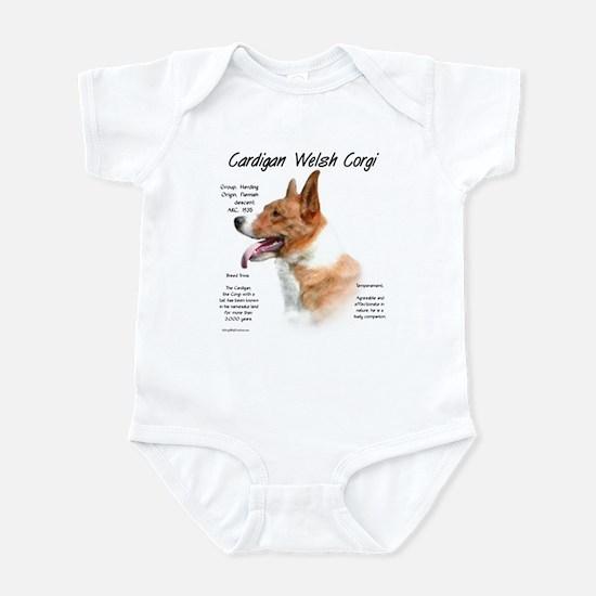 Cardigan Welsh Corgi Baby Light Bodysuit