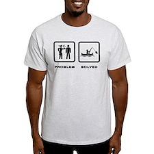 Canoe Fishing T-Shirt