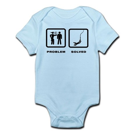 Bungee Jumping Infant Bodysuit