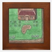 Link's House Framed Tile