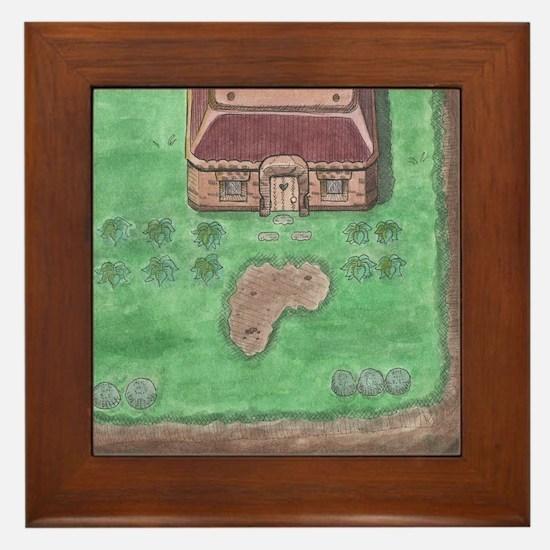 Link's House Framed Tile