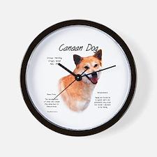 Canaan Dog Wall Clock