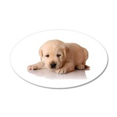 Golden Lab Puppy Wall Decal