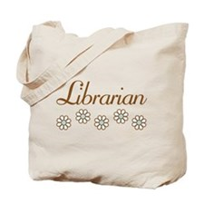 Librarian (daisy) Tote Bag