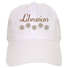 Librarian (daisy) Baseball Cap