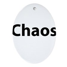 Chaos Ornament (Oval)