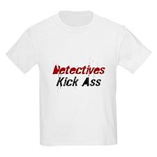 Detectives Kick Ass Kids T-Shirt