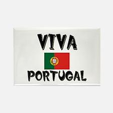 Viva Portugal Rectangle Magnet