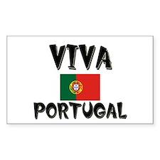 Viva Portugal Rectangle Decal