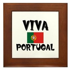 Viva Portugal Framed Tile