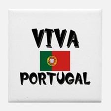 Viva Portugal Tile Coaster