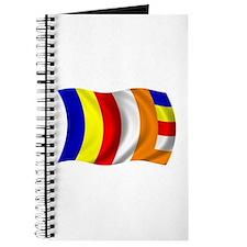 Wavy Buddhist Flag Journal