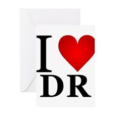 ilovedr.png Greeting Card