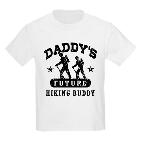 Daddy's Future Hiking Buddy Kids Light T-Shirt