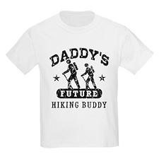 Daddy's Future Hiking Buddy T-Shirt