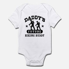 Daddy's Future Hiking Buddy Infant Bodysuit