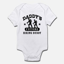 Daddy's Future Hiking Buddy Onesie