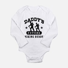 Daddy's Future Hiking Buddy Long Sleeve Infant Bod