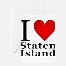 ilovestatenisland.png Greeting Card
