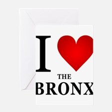 ilovethebronx.png Greeting Card