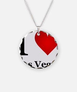 I Love Las Vegas Necklace