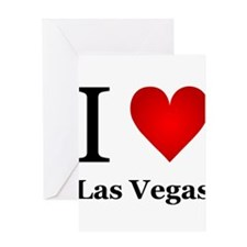 I Love Las Vegas Greeting Card