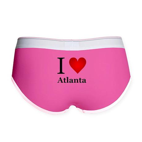 I Love Atlanta Women's Boy Brief
