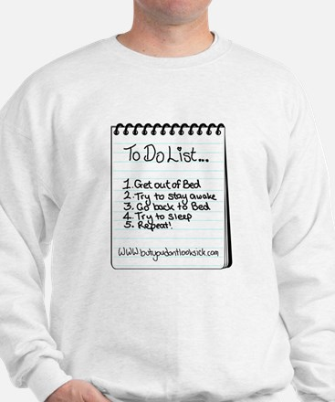 "The ""To Do"" List Sweater"