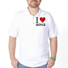 ilove2012.png T-Shirt