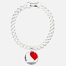 ilovevampires.png Charm Bracelet, One Charm