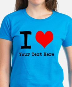 I Heart (personalized) Tee