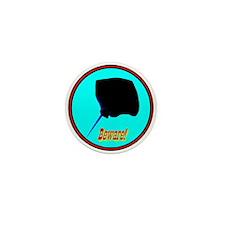 Beware Stingray Mini Button (10 pack)