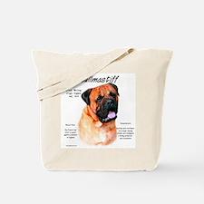 Red Bullmastiff Tote Bag