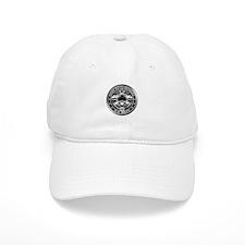 US Navy Chiefs Skull and Bones Baseball Cap