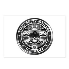 US Navy Chiefs Skull and Bones Postcards (Package
